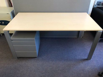 Picture of SD 12 – 1600mm Straight Desk And Pedestal