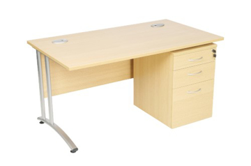 Picture of CONTRACT – Straight Cantilever Desk
