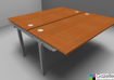 Picture of Astrolite Double Add On Bench Desk