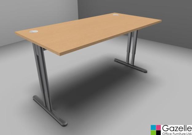 Picture of Essentiel Height Adjustable Straight Desk