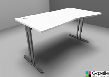 Picture of Essentiel Height Adjustable Wave Desk