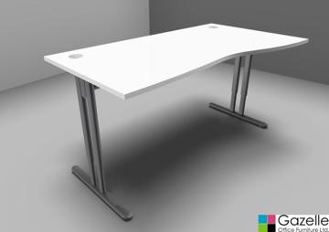 Picture of Essentiel Height Adjustable Wave Desk