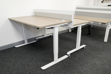 Picture of Volt Electric Height Adjustable Straight Desk
