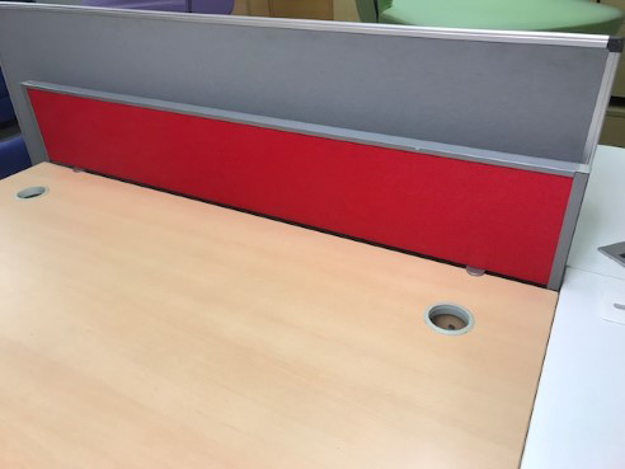 Picture of DMS 10 – 1600mm Desk Top Screen
