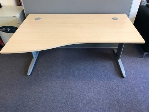 Picture of WD 20 - 1600mm Left Hand Wave Desk