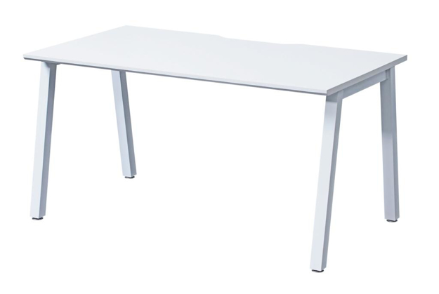 Picture of Contract White Single Starter Bench Desk