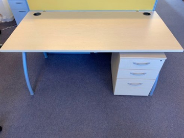 Picture of SD 1 - 1600mm Straight Desk And Pedestal