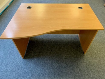 Picture of WD 1 - 1400mm Left Hand Wave Desk