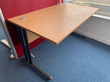 Picture of SD 14 - 1400MM Straight Desk