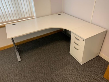 Picture of CD 4 – 1800mm Right Hand Corner Desk And Pedestal