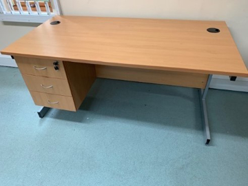 Picture of SD 19 - 1600mm Straight Desk
