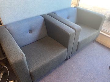 Picture of RS 14 - Reception Seating