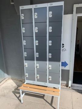 Picture of LOC 1 – 18 Door Locker With Bench