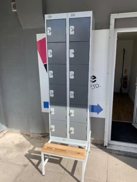 Picture of LOC 2 – 12 Door Locker With Bench
