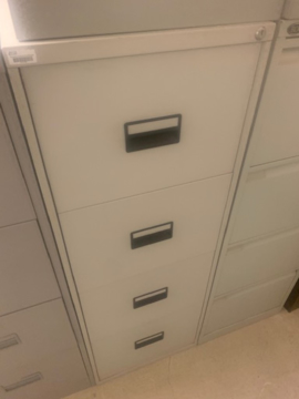 Picture of FC 5 – 4 Drawer Filing Cabinet