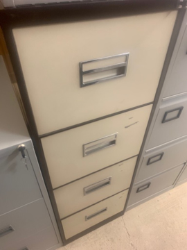 Picture of FC 13 – 4 Drawer Filing Cabinet
