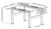 Picture of Electric Height Adjustable Double Frame
