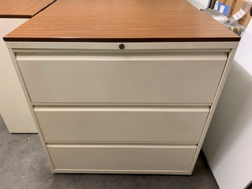 Picture of FC 10 – 3 Drawer Lateral Filing Cabinet