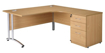 Picture of CONTRACT – Cantilever Curved Desk