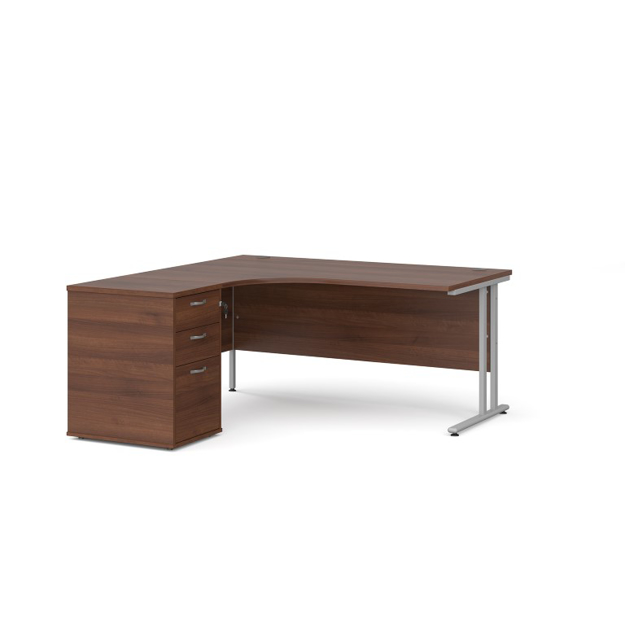 Picture of CONTRACT ii – Curved Desk And Pedestal Package