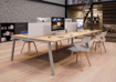 Picture of Partage Double Add on Bench Desk