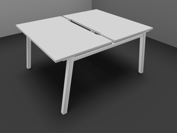 Picture of Partage Double Starter Bench Desk
