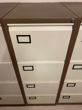 Picture of FC 9 – 4 Drawer Filing Cabinet