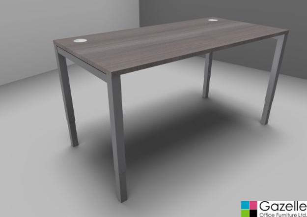 Picture of Astrolite Height Adjustable Straight Desk