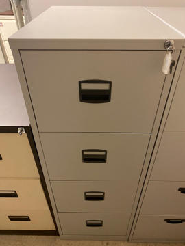 Picture of FC 1 – Bisley 4 Drawer Filing Cabinet