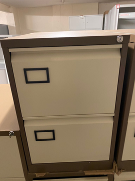Picture of FC 13 – Bisley 2 Drawer Filing Cabinet