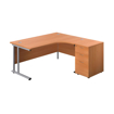 Picture of Express Curved Cantilever Desk Package