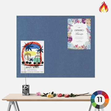 Picture of Frameless Eco Resist-A-Flame Notice Board