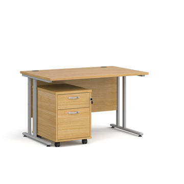 Picture of SD 1 - 1200mm Straight Desk And Pedestal