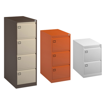 Picture of Metal Executive Filing Cabinets