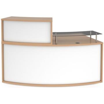 Picture of Denver Curved Reception Desk 2