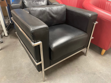 Picture of RS 11 - Corbusier style Reception Chair