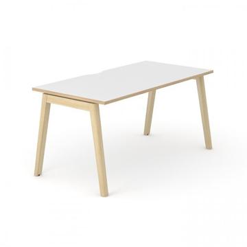 Picture of Nova Wood Single Bench Desk