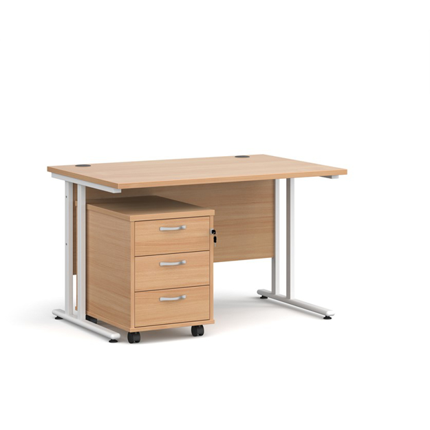Picture of CONTRACT ii – Straight Desk And Pedestal Package